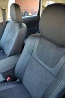 Фото товара 6 - Авточехлы Leather Style для салона Mitsubishi Outlander '12- (MW Brothers)