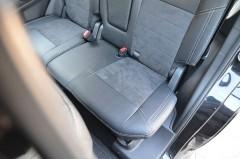 Фото товара 8 - Авточехлы Leather Style для салона Mitsubishi Outlander '12- (MW Brothers)