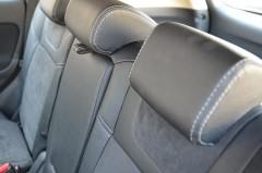 Фото товара 11 - Авточехлы Leather Style для салона Mitsubishi Outlander '12- (MW Brothers)