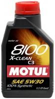 Фото 1 - MOTUL 8100 X-clean 5W-30 (5л)