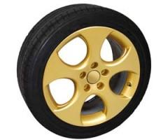 Спрей для дисков золотой металлик (FOLIATEC)