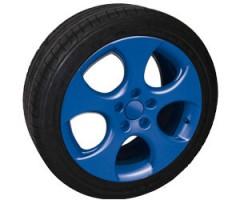 Спрей для дисков синий глянцевый (FOLIATEC)