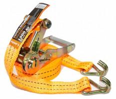 Стяжной ремень с храповым механизмом LA 133806PE, 6 м. - 1,5 т. (Lavita)