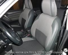 Авточехлы Premium для салона Toyota RAV4 '01-06 синяя строчка (MW Brothers)