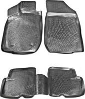Коврики в салон для Renault Lodgy '12- полиуретановые, черные (L.Locker)