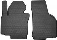 Коврики в салон передние для Volkswagen Golf VI '09-12 резиновые (Stingray)