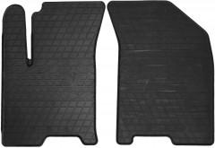 Коврики в салон передние для Chevrolet Aveo '04-11 резиновые (Stingray)