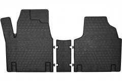 Коврики в салон для Fiat Scudo '00-06 резиновые (Stingray) 3 шт.