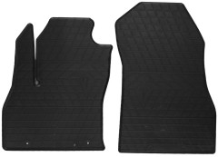 Коврики в салон передние для Fiat Fiorino Qubo '08- резиновые (Stingray)
