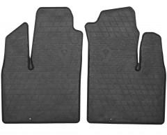 Коврики в салон передние для Fiat Doblo '01-09 резиновые (Stingray)