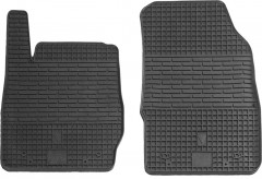Коврики в салон передние для Ford Fiesta '09-17 резиновые (Stingray)