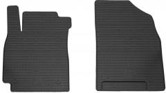 Коврики в салон передние для Geely Emgrand X7 '13- резиновые (Stingray)