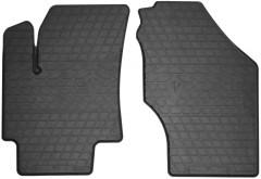 Коврики в салон передние для Hyundai Accent '06-10 резиновые (Stingray)