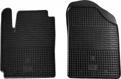 Коврики в салон передние для Hyundai i-10 '07-13 резиновые (Stingray)