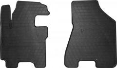 Коврики в салон передние для Kia Sportage '04-10 резиновые (Stingray)