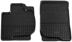 Коврики в салон передние для Mitsubishi Pajero Sport '08-16 резиновые (Stingray)