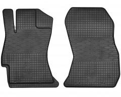 Коврики в салон передние для Subaru Forester '13-18 резиновые (Stingray)