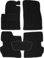 Коврики в салон для Ford Fusion '02-12 текстильные, черные (Милан)
