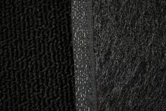 Фото 6 - Коврики в салон для Citroen C3 '10- Picasso текстильные, черные (Милан)