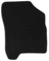 Фото 3 - Коврики в салон для Citroen C3 '10- Picasso текстильные, черные (Милан)