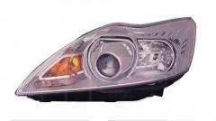 Фара передняя для Ford Focus II '08-11 правая (DEPO) электрич., H1+D1S, хром. отраж. 1574920
