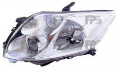 Фара передняя для Toyota Auris '06-09 левая (DEPO) с корректором электрич. 8116092E