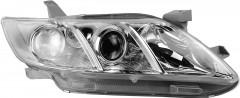 Фара передняя для Toyota Camry V40 '06-11 правая (DEPO) европ. версия электрич. (белая вставка) 212-11K9R-LD-EM