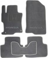 Коврики в салон для Honda Accord 8 '08- USA текстильные, серые (Люкс) 2 дв. купе