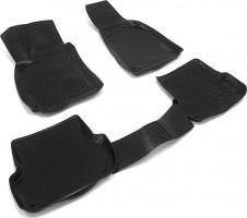 Коврики в салон для Audi A4 '05-08 полиуретановые, черные (L.Locker)