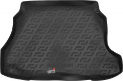 Коврик в багажник для ЗАЗ (Zaz) Forza / Chery A13 '11- хетчбэк, резиновый (Lada Locker)