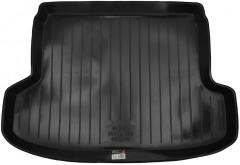 Коврик в багажник для Kia Rio '05-11 седан, резино/пластиковый (Lada Locker)