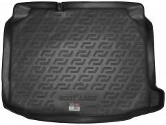 Коврик в багажник для Seat Leon '12-, нижний, резиновый (Lada Locker)
