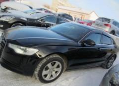 Дефлекторы окон для Audi A6 '11- седан, Eurostandart (Cobra)