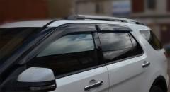 Дефлекторы окон для Ford Explorer '11-, Eurostandart (Cobra)