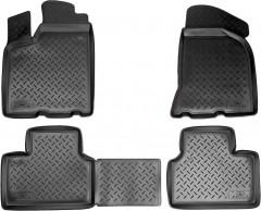 Коврики в салон для Lada (Ваз) 2110-12 полиуретановые (Nor-Plast)