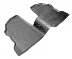 Коврики в салон для Opel Combo '01-12 полиуретановые, черные (Nor-Plast) задние