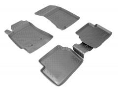 Коврики в салон для Subaru Forester '03-08 полиуретановые (Nor-Plast)