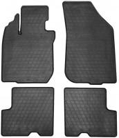 Коврики в салон для Renault Duster '10-15, 4/2WD резиновые (Stingray)