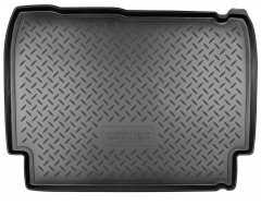Коврик в багажник для Lada (Ваз) 2105, резино/пластиковый (Norplast)