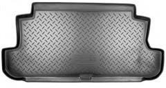 Коврик в багажник для Lada (Ваз) Niva 2121 '94-06, резино/пластиковый (Norplast)