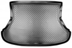 Коврик в багажник для Lada (Ваз) Priora 2170 '07- седан, резино/пластиковый (Norplast)