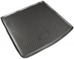 Коврик в багажник для Audi A4 '08-15, универсал, резино/пластиковый (Norplast)