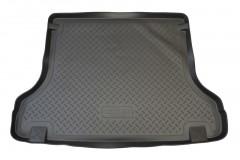 Коврик в багажник для Daewoo Lanos '98- седан, резино/пластиковый (Norplast)