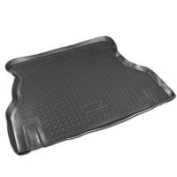 Коврик в багажник для Daewoo Nexia '95-05, резино/пластиковый (Norplast)