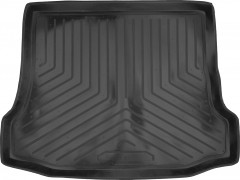 Коврик в багажник для Ford Focus I '99-04 седан, резино/пластиковый (Norplast)