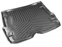 Коврик в багажник для Ford Focus I '99-04 универсал, резино/пластиковый (Norplast)