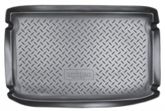 Коврик в багажник для Hyundai Getz '02-11, резино/пластиковый (Norplast)
