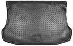 Коврик в багажник для Kia Sorento '03-09 BL, резино/пластиковый (Norplast)