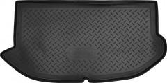 Коврик в багажник для Kia Soul '09-13 (верхний), резино/пластиковый (Norplast)