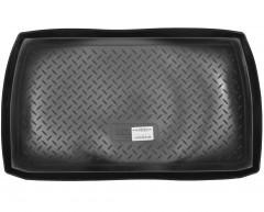 Коврик в багажник для Mitsubishi Grandis '03-11, короткий, резино/пластиковый (Norplast)